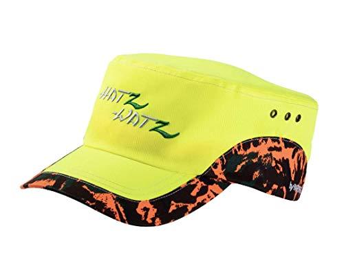 PARFORCE Hatz-Watz Ranger Signal Cap Neon Orange Camo Signalfarbe Jagdmütze