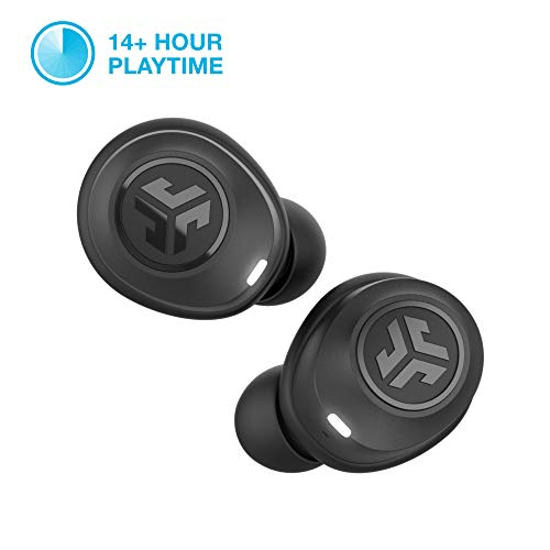 JLab Audio JBuds Air True Wireless Signature Bluetooth Earbuds + Charging Case - Black - IP55 Sweat...