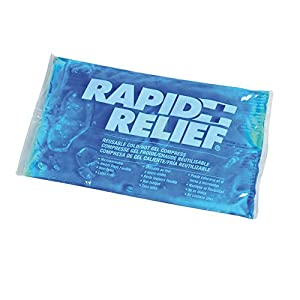 Queraltó Rapid Relief compresa reutilizable, bolsa frío calor 15x26 cm (402B01)