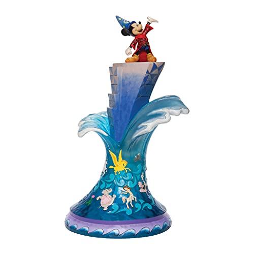 Disney Traditions, Figura de Mickey Mouse en Fantasía 2000, para coleccionar,...