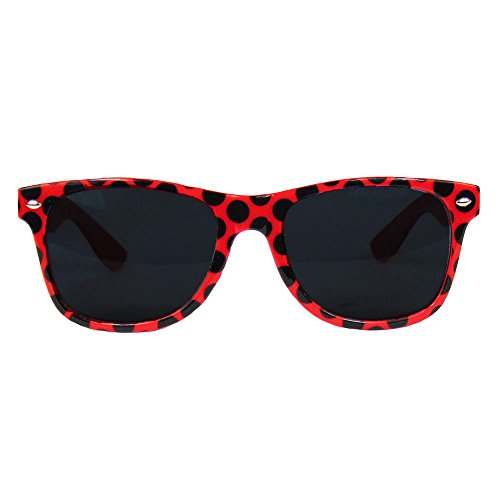 Partybob Marienkäfer-Kostüm Brille - Sonnenbrille