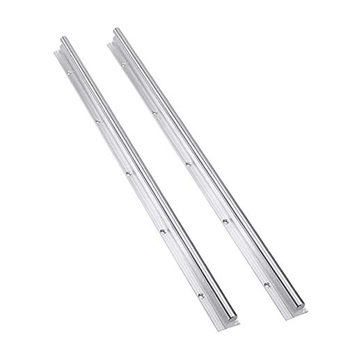 Without brand 10mm SBR10 Linearschiene SBR Länge 300 500 600 1000 mm 2Stk Wellen Rod Optische Achsen-Führungslager for CNC-Teile (Größe : 1000mm)