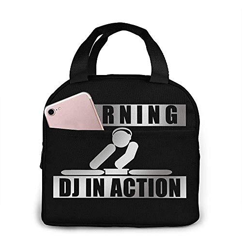 DJ in Action Bento Bento Bento Bag, herbruikbare tas, warme en koele gerechten