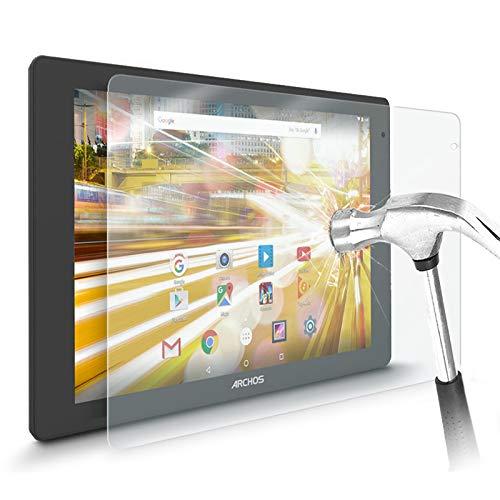 KARYLAX - Protector de pantalla de cristal Nano flexible, dureza 9H, ultrafino 0,2 mm y 100% transparente para tablet Archos 80 Helium 4G de 8 pulgadas
