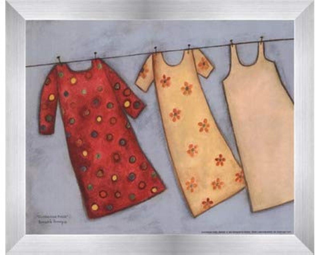 はっきりとボトルネック歯痛Clothesline Fresh by Bernadette Deming?–?10?x 8インチ?–?アートプリントポスター LE_479905-F9935-10x8