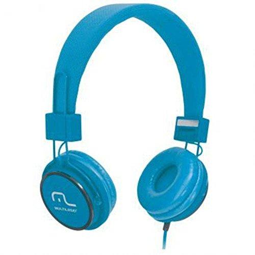 Fone De Ouvido Multilaser Com Microfone Headfun Azul P2 - PH089