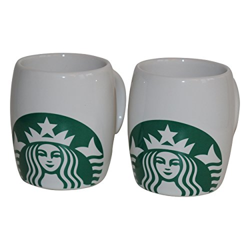 Starbucks Espresso Tasse Siren Logo Mug Espresso Set Demitasse (2)