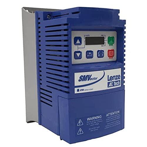 AC TECHNOLOGY ESV251N01SXB NEMA 1 / IP31, NO COMMS, 0.25 KW, Drive, 120 VAC (Doubler Output) OR 240 VAC, 0.33 HP, Single Phase Input, Standard KEYPAD, Frequency Inverter