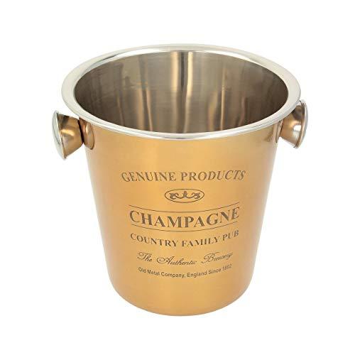 Dekoria Champagnerkühler Genuine Gold