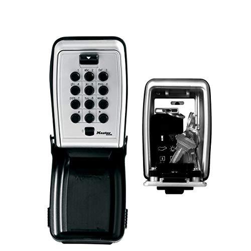 Master Lock Caja fuerte para llaves [Medium] [Montaje mural] [Pulsador]- 5423EURD - Caja de seguridad