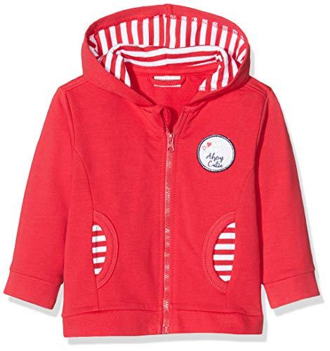 Salt & Pepper Baby-Mädchen 03218208 Sweatjacke, Rot (Lollipop Red 344), (Herstellergröße: 68)