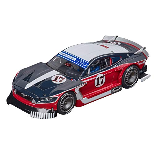 Carrera 27636 Ford Mustang GTY 1:32 Scale Analog Slot Car Racing Vehicle for Carrera Evolution Slot Car Race Tracks
