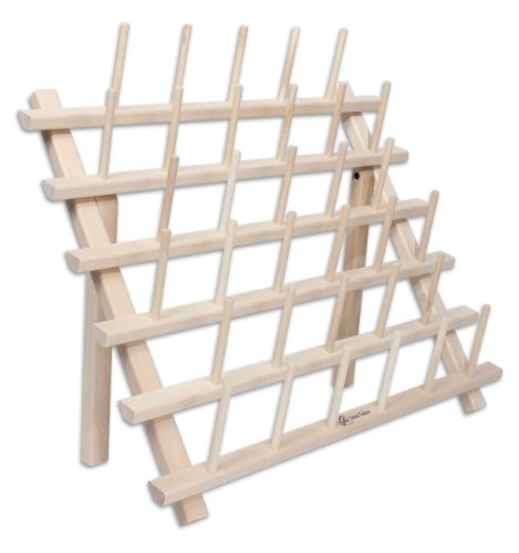 Price comparison product image June Tailor Cone Thread Rack,  Holds 33 Cones,  JT680