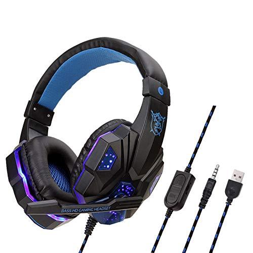 Staright SY830MV Auriculares para Juegos de computadora con Cable Auriculares para Juegos...
