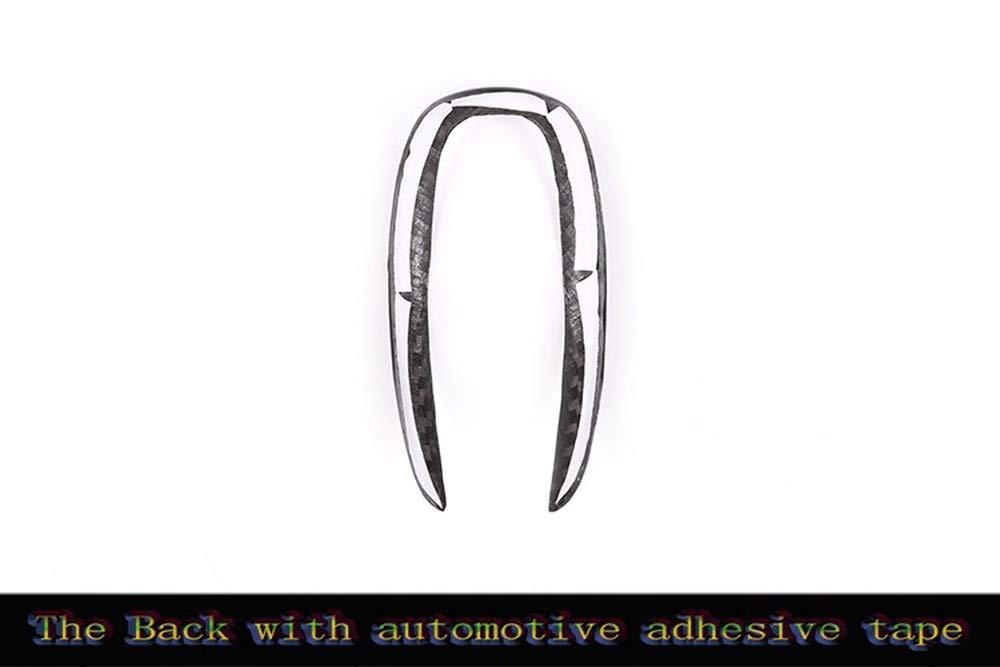 TIANRUI CROWN Right Hand Drive Real Carbon Fiber Interior Gear Shift Frame Trim Stickers For BM X5 X6 E70 E71 2010 2011 2012 2013 RHD