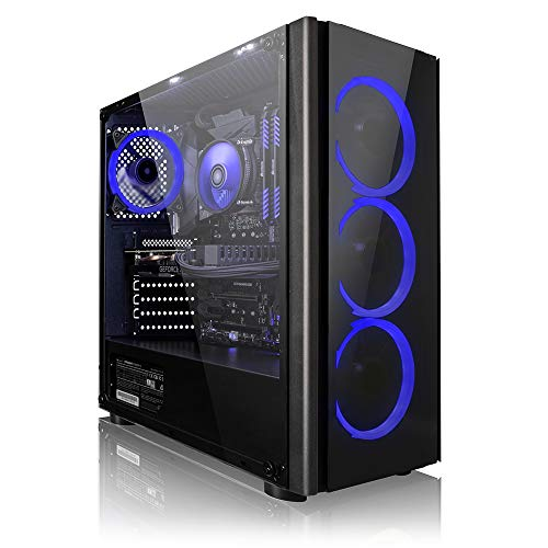 Megaport complete Game PC AMD Ryzen 5 2600 6x3.40 GHz • GeForce RTX2060 6GB • 16GB DDR4 • 1TB • Windows 10 • Game PC • Gaming Computer • Desktop PC • Gamer Computer