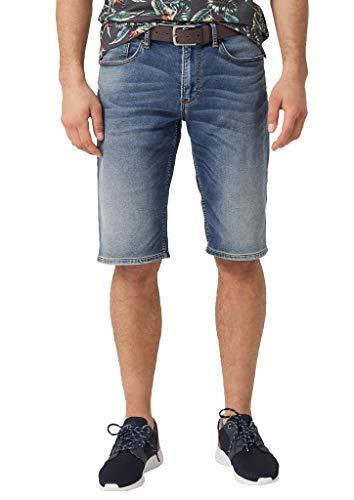 s.Oliver Herren 03.899.72.4599 Shorts, Blau (Blue Denim Stretch 55z4), W(Herstellergröße: 28)