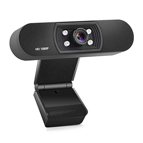 YIBOKANG HD Webcam 1080P Built-in Microphone Best Webcam Videos for Meeting Full HD Live Webcam Streaming Video Camera for Computers PC Laptop Desktop,Video Calling,Conference,Online Study