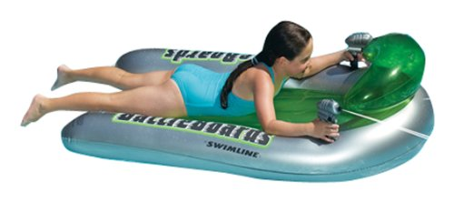Swimline Battleboards Squirter Pool Float Set, 2 Piece