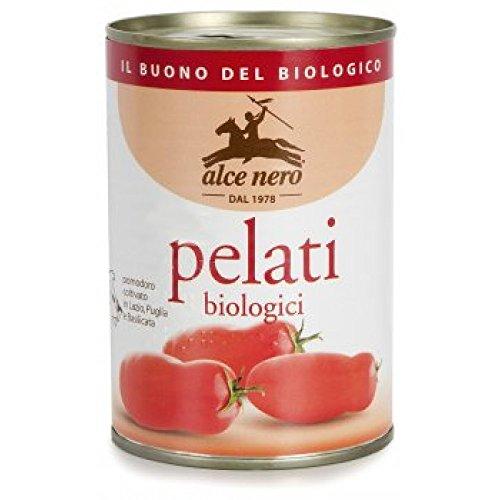 400g Alce Nero Orgánica tomates pelados enteros