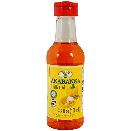 Akabanga Chili Öl Piri-Piri Bird's Eye Ruanda Afrika (1 x 100ml)