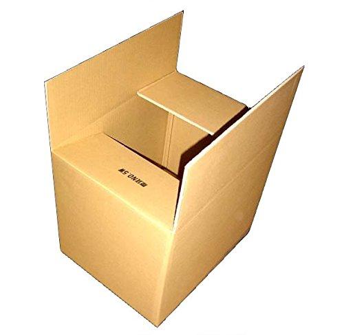 140サイズ ダブルダンボールケース5W×1枚 520mm×380mm×400mm 7mm厚 海外発送や重梱包に最適です