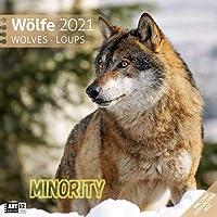 2021 狼カレンダー Woelfe-Wolves-Loups_kal WOLF オオカミ 狼 ウルフ おおかみ コレクション