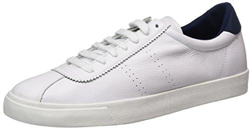 Superga Unisex-Erwachsene 2843 Comfleau Sneaker, Weiß (White Navy), 42 EU