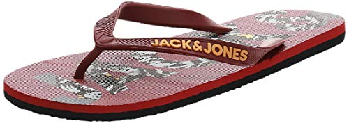 Jack Jones Chanclas Logo Print Hombre Chanclas Playa