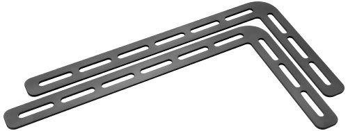 Meliconi 480514 BA1Sound BAR 1000 - Soporte para barra de sonido, acero, capacidad máximade 20 kg, 35 x 19 x 3 cm