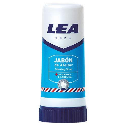 LEA Rasierseife-Stick mit Glycerin und Lanolin - 50 g - Made in Spanien