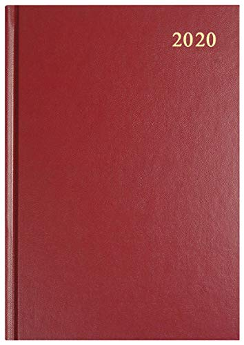 Collins Essential A4 Week to View 2020 Diary - Maroon