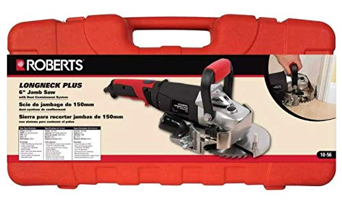 NEW QEP ROBERTS 10-56 ELECTRIC 6' LONGNECK JAMB SAW KIT WITH CASE