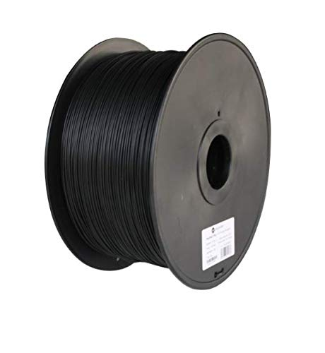 Polymaker PolyMax PC 3D Printer Filament, PC Filament(Polycarbonate), True Black, 1.75 mm 3 Kg, 110C Heat Resistant, Easy to Print, Harder and Stronger Than Regular PC…