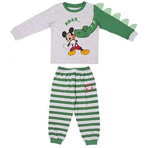 CERDÁ LIFE'S LITTLE MOMENTS 2200006171_T06A-C59 Juego de Pijama, Verde, 6 años para Bebés