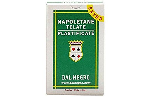 DAL NEGRO Carte da gioco napoletane telate plastificate 81 EXTRA 014004 VC8