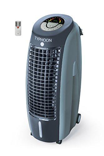 MACOM Enjoy & Relax 995 Typhoon Raffrescatore Evaporativo con Funzione Ionizzante, Grigio