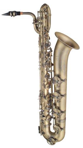 P. Mauriat 300 - Saxofón barítono (estilo vintage oscuro)