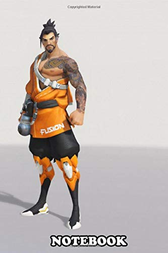 Notebook: Hanzo In The Colors Of The Philadelphia Fusion , Journal for Writing, College Ruled Size 6  x 9 , 110 Pages