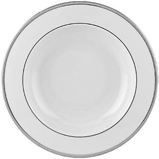 Lenox Tuxedo Platinum Ivory China Pasta Bowl/Rim Soup