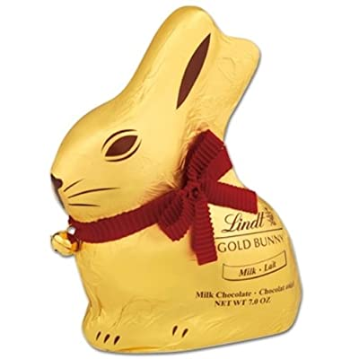 lindt milk chocolate gold easter bunny 200g Lindt milk chocolate gold Easter bunny 200g 41A2HFGBQ7L
