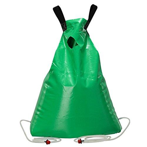 Preisvergleich Produktbild flower205 Original Bewässerungsbeutel,  Tree Watering Bag,  Mit Verstellbarem Düsenabstand Gartenobstbaumbewässerungsbeutel Baumbewässerungs-Tropfbewässerungsb...  Für Neu Gepflanzte Bäume,  grün