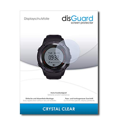 disGuard Protector de Pantalla [Crystal Clear] compatibile con Cubot F1 [2 Piezas] Cristal, Transparente, Invisible, Anti-Arañazos, Anti-Huella Dactilar - Película Protectora