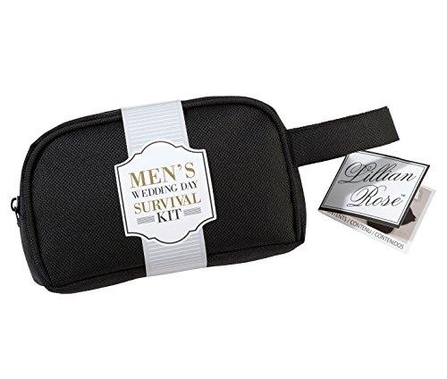 Lillian Rose Men's Wedding Day Mini Emergency Survival Kit, 5.25' x 3', Multicolor