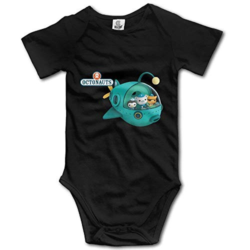 WlQshop Oktonauten Unisex Kurzarm Bodysuit Strampler Jumpsuit Outfits für Baby Gr. 3 Monate, mehrfarbig