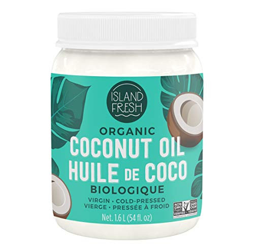 Island Fresh Superior Organic Virgin Coconut Oil,...