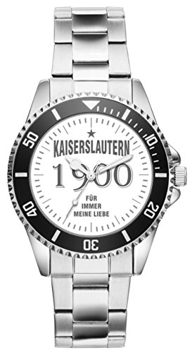 Kaiserslautern Geschenk Artikel Idee Fan Uhr 11002
