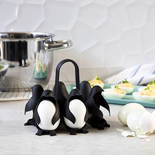 Pinguin Eierhalter für den Topf zum Kochen