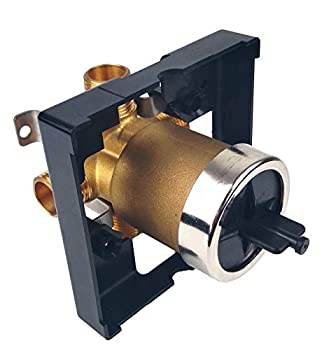 Haverton Hardware Upgraded R10000-UNBX Universal Tub and Shower Valve Body For Delta Tub Faucet Trim Kits Brass Construction Stainless Steel Mounting Bracket