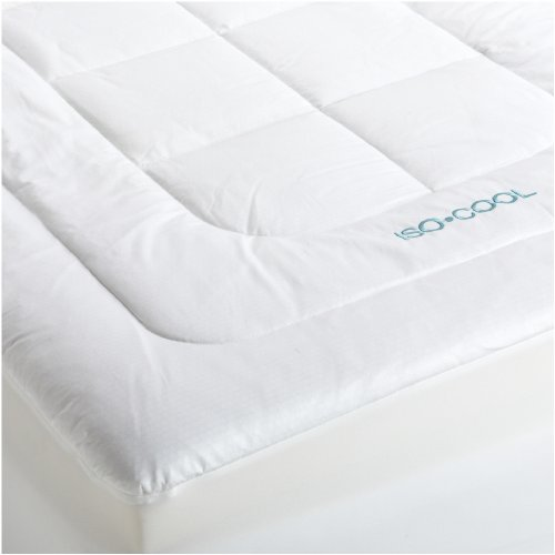 SleepBetter Iso-Cool Memory Foam Mattress Topper with Outlast Cover, Queen